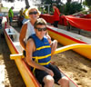 Photo from the Jul 2013 Adapted Canoe Practice in Kihei, HI